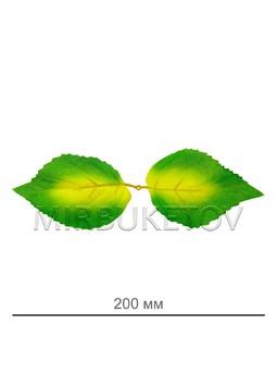 Букетная ножка на 7 голов с листом, 420 мм