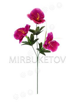 Искусственные цветы Букет Орхидеи, 3 головы, 600 мм