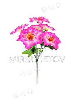 Искусственные цветы Букет Гибискуса, 6 голов, 430 мм