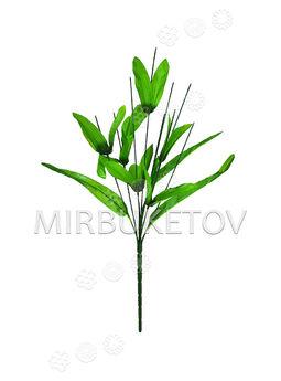 Букетная ножка с листьями, литая, 9 голов, 500 мм