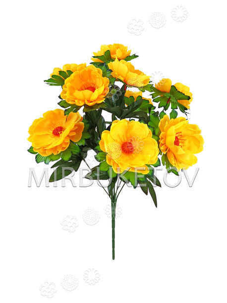 Искусственные цветы Букет Герберы, 9 голов, 460 мм