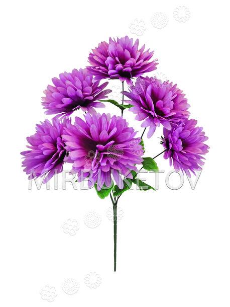 Искусственные цветы Букет Георгины, 6 голов, 510 мм