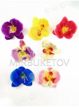Искусственные цветы Орхидеи, шелк, микс, 120 мм
