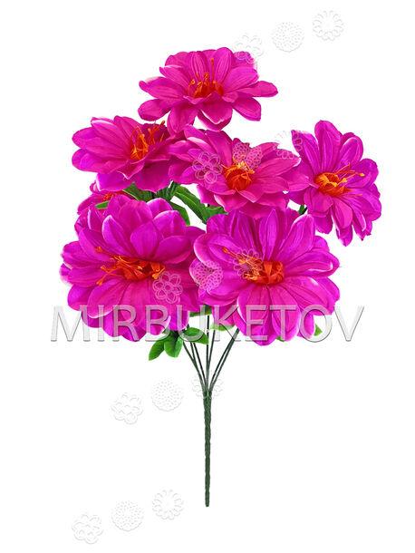 Искусственные цветы Букет Крокуса, 7 голов, 580 мм