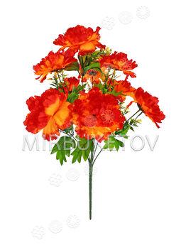 Искусственные цветы Букет Георгины, 9 голов, 550 мм