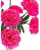 Искусственные цветы Букет Гвоздики, 9 голов, микс, 720 мм