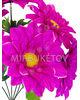 Искусственные цветы Букет Хризантемы, 6 голов, 560 мм