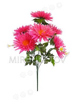Искусственные цветы Букет Герберы, 7 голов, 540 мм