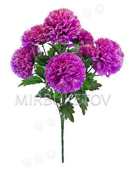 Искусственные цветы Букет Гвоздики, 7 голов, 680 мм