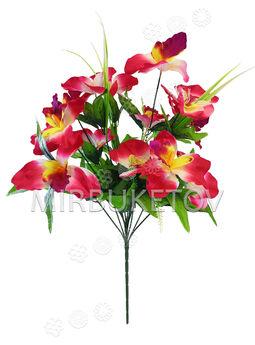 Искусственные цветы Букет Орхидеи, 13 голов, 640 мм