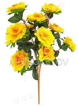 Искусственные цветы Букет Розы VIP, 13 голов, 780 мм