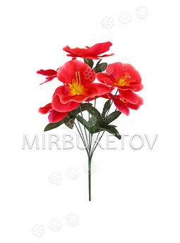 Искусственные цветы Букет Орхидеи, 7 голов, 410 мм