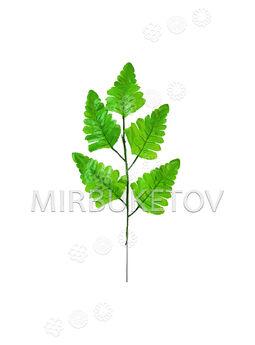 Ветка с листьями папоротника, 5 листьев, 360 мм