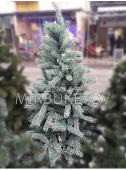 -Искусственная литая елка, голубая, 1.8 м
