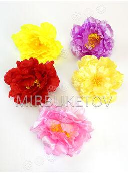 Искусственные цветы Пиона, атлас, 140 мм