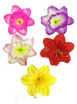 Искусственные цветы Нарцисса с тычиной, атлас, 140 мм