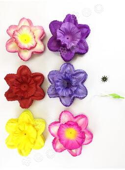 """Искусственные цветы Нарцисса с тычиной """"Собери сам"""", атлас, 140 мм"""