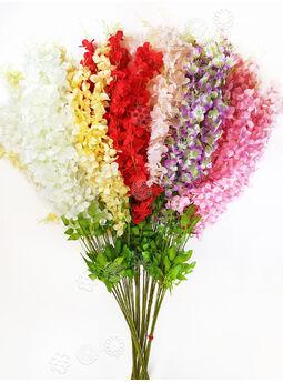 Искусственные цветы Премиум Глициния на ножке, 1180 мм
