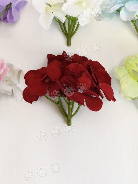 Искусственные цветы Гортензии, высота 100 мм