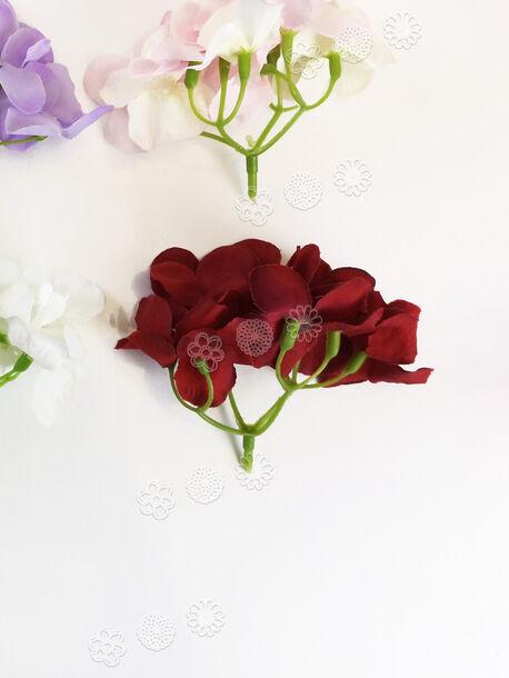Искусственные цветы Гортензии, высота 80 мм
