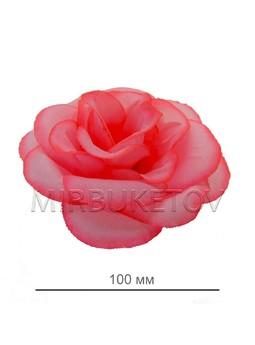Роза шелковая открытая, 100 мм