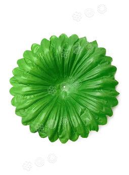 """Искусственный лист подставка """"Тарелка"""", зеленый, 180 мм"""