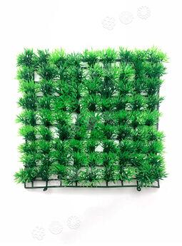 Искусственный коврик Травка VIP, пластик, модульный, зеленый, 250x250 мм