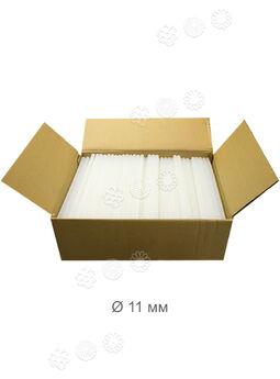 Силиконовый клей, прозрачный, 11 мм, ящик 25 кг