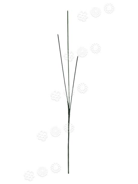 Букетная ножка без листа, 3 ветки, литая, 640 мм