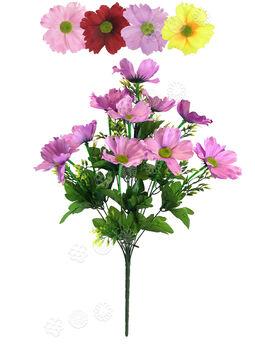 Искусственные цветы Букет Гербер, 12 голов, 550 мм