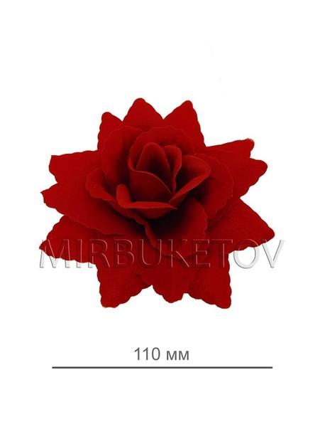 Острая бархатная роза 112