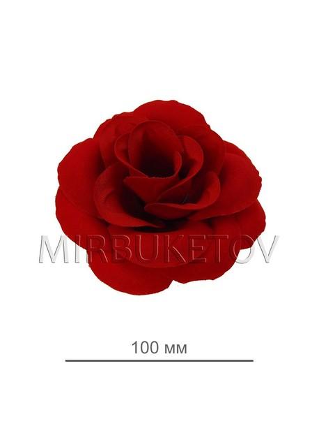 Красная бархатная роза 118