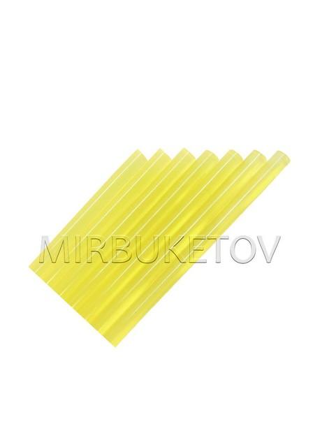 Клей силиконовый желтый 11 мм Glue001