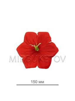 Пресс цветок ландыш шелк B11, диаметр 150 мм, в упаковке 1200 штук