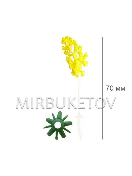 Тычинка кукурузка желтая, 70 мм