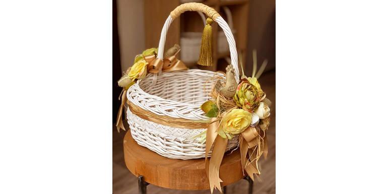 Пасхальная флористика: цветы в декоре праздничных корзинок